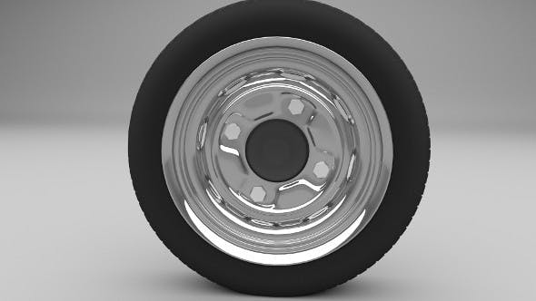 Generic wheel - 3DOcean Item for Sale