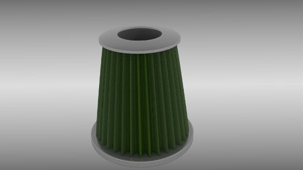 Air filter - 3DOcean Item for Sale
