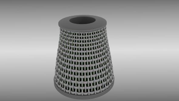 Air filter - 3DOcean Item for Sale