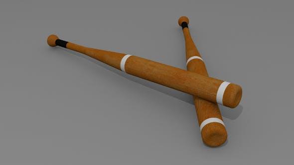 Baseball bat - 3DOcean Item for Sale