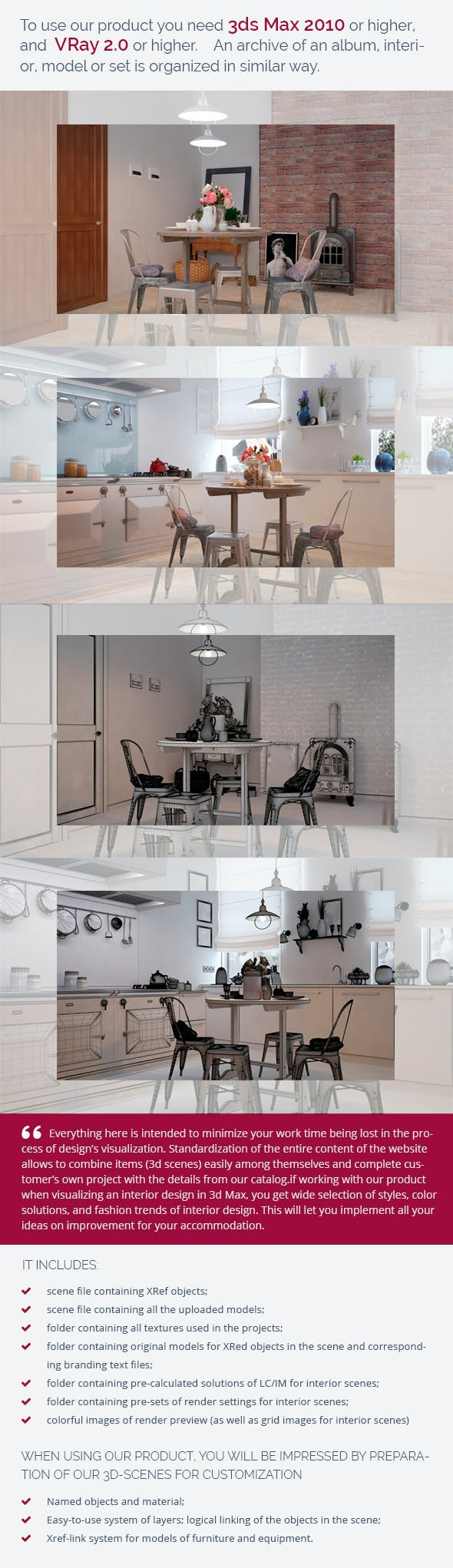 Kitchen 0108 - 3DOcean Item for Sale