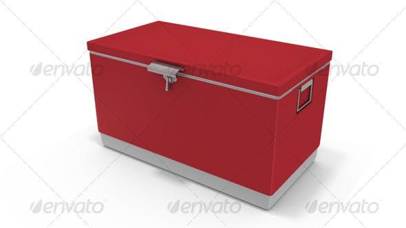 Beverage Cooler - 3DOcean Item for Sale