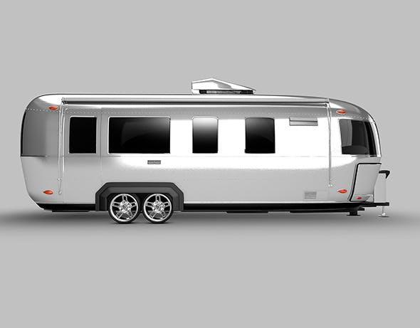 airstream camper - 3DOcean Item for Sale