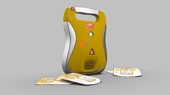 Defibrillator - 3DOcean Item for Sale