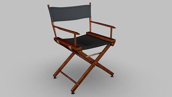 Directors chair - 3DOcean Item for Sale