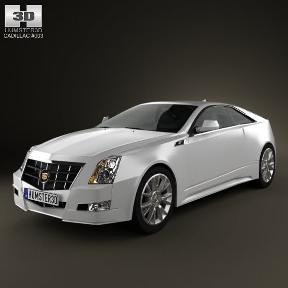 Cadillac CTS 2011 - 3DOcean Item for Sale