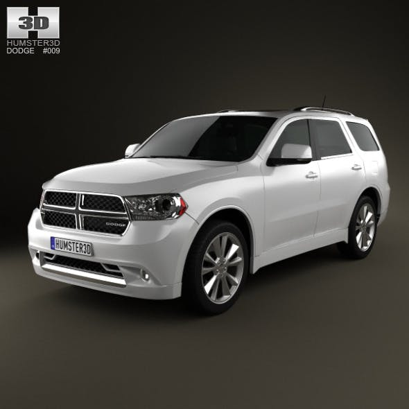 Dodge Durango 2011 - 3DOcean Item for Sale