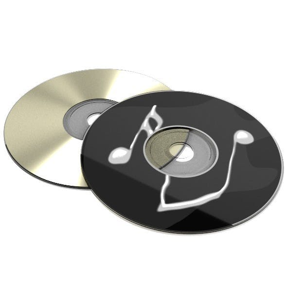 Compact Disc - 3DOcean Item for Sale