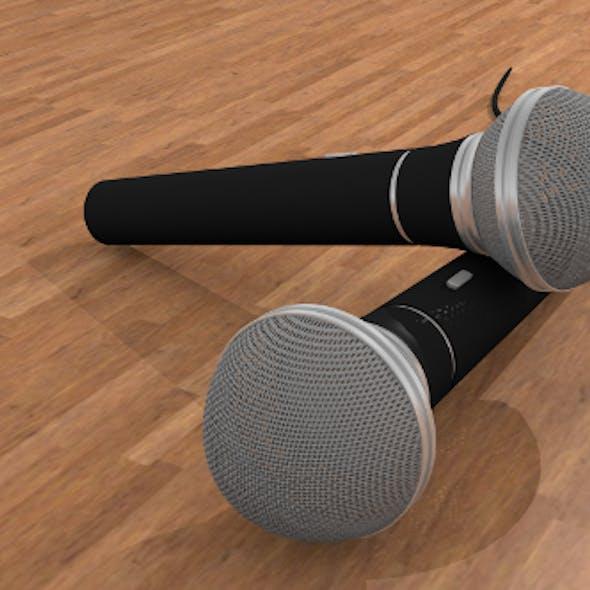 Microphone High detail model