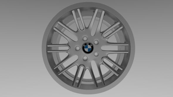 BMW rim 4 - 3DOcean Item for Sale