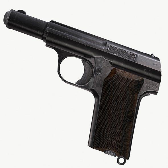 Astra 300 Gun - 3DOcean Item for Sale