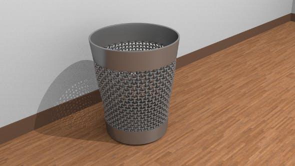 Office trash bin - 3DOcean Item for Sale