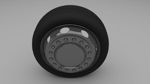 Truck / Bus Wheel - 3DOcean Item for Sale