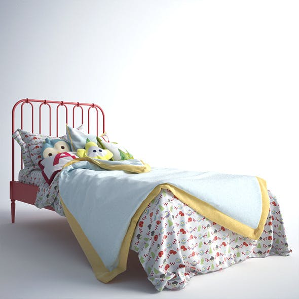 Raspberry Bed - 3DOcean Item for Sale