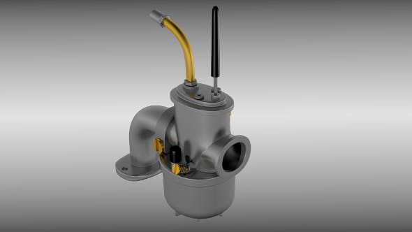 Moped carburetor - 3DOcean Item for Sale