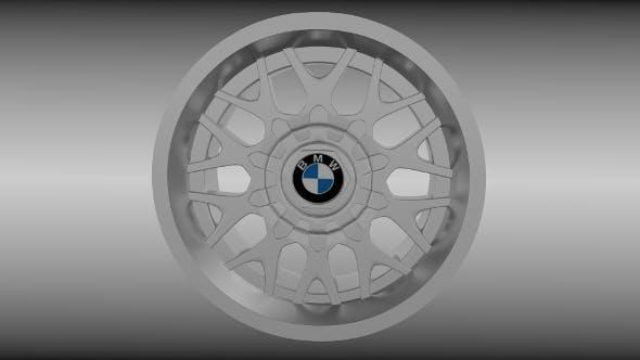 BMW rim 5 - 3DOcean Item for Sale