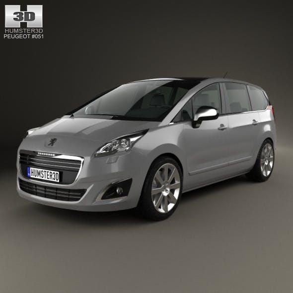 Peugeot 5008 2014 - 3DOcean Item for Sale