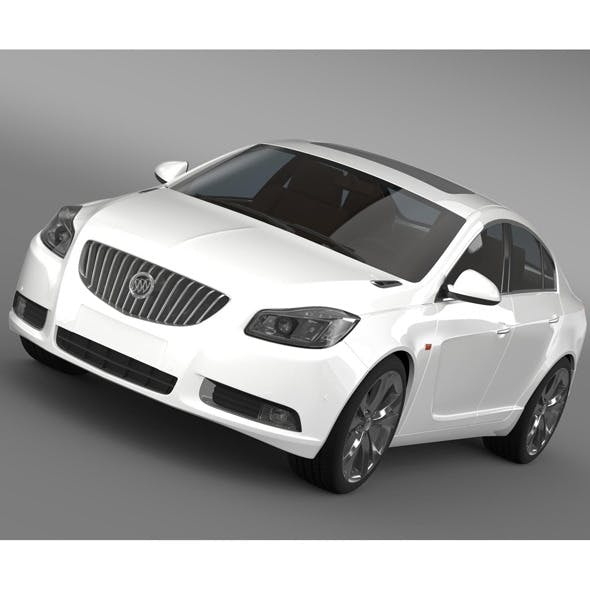 Buick Regal 2011-2013 - 3DOcean Item for Sale