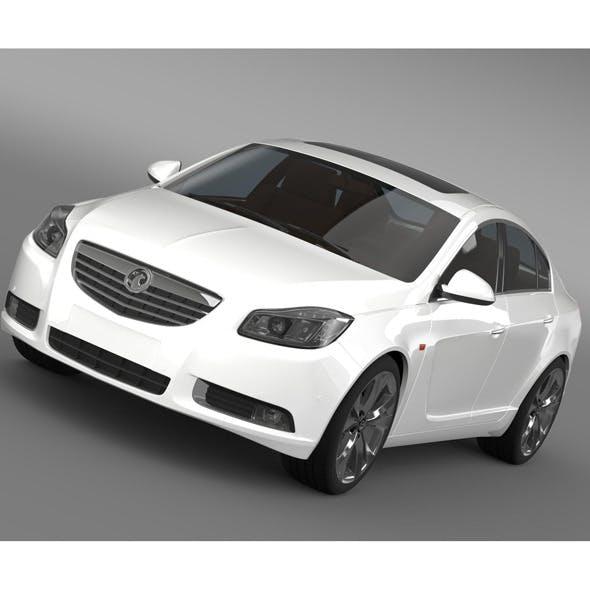 Vauxhall Insignia 4x4 BiTurbo - 3DOcean Item for Sale