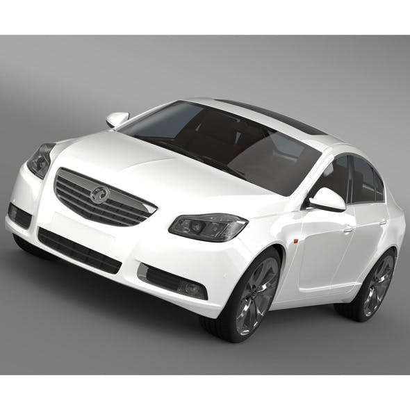 Vauxhall Insignia - 3DOcean Item for Sale
