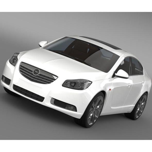 Opel Insignia 2008-13 - 3DOcean Item for Sale