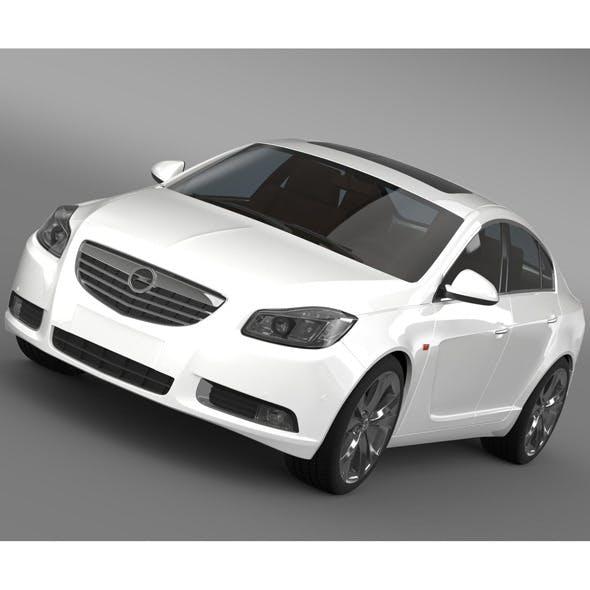Opel Insignia Biturbo 2008-13