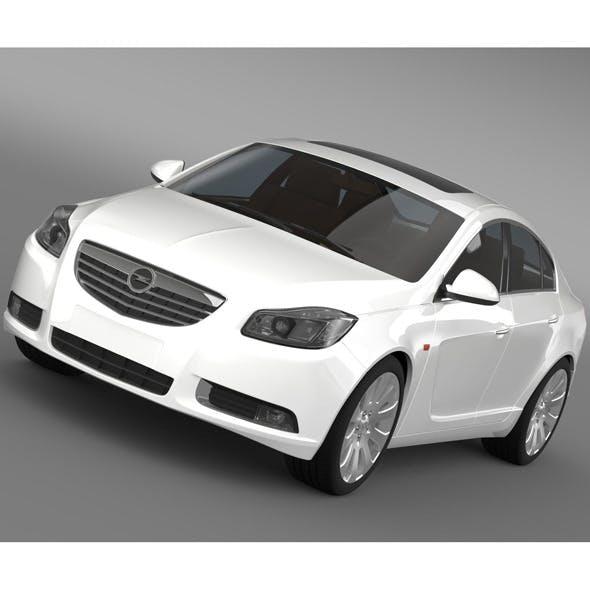 Opel Insignia ECOFlex 2008-13 - 3DOcean Item for Sale