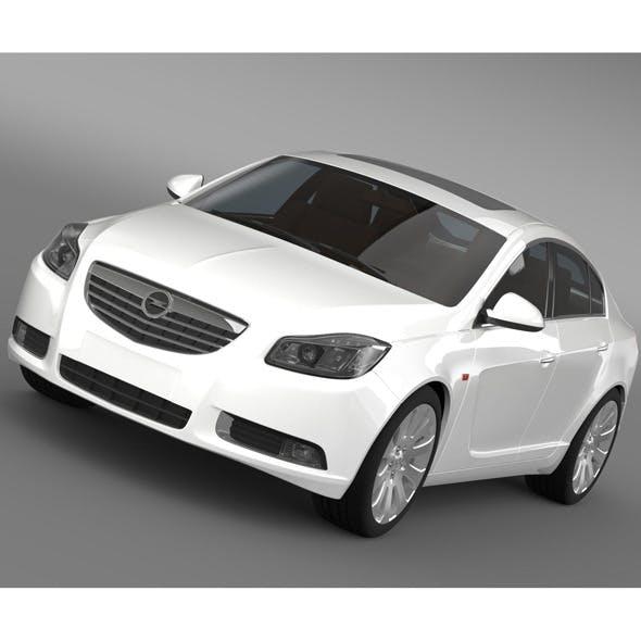 Opel Insignia Hatchback 2008-13 - 3DOcean Item for Sale