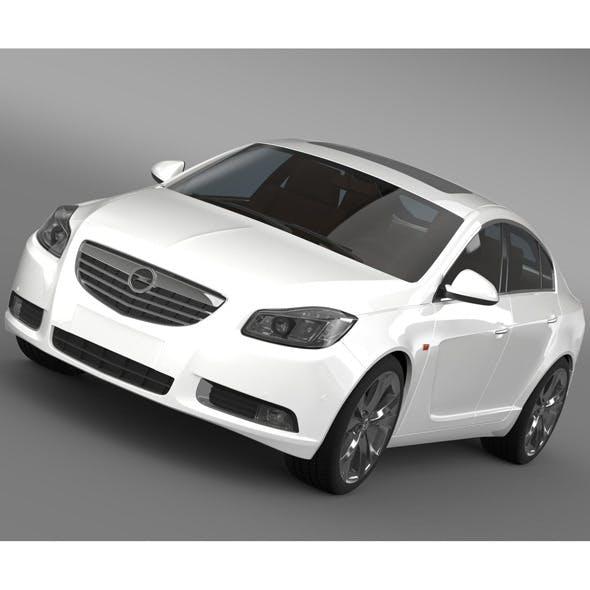 Opel Insignia Hatchback Turbo 2008-13