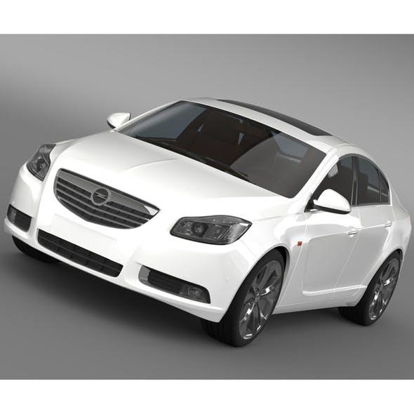 Opel Insignia Turbo 2008-13