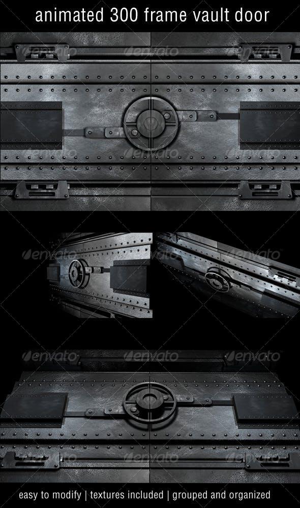 Vault Door 01 - 3DOcean Item for Sale
