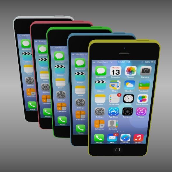 Iphone 5C - 3DOcean Item for Sale