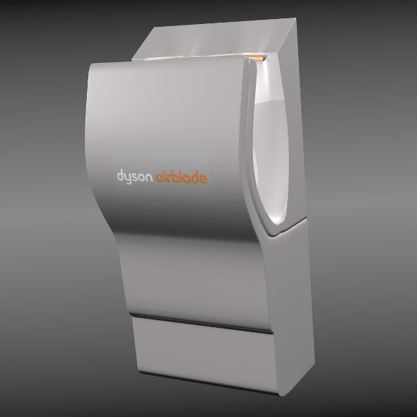 Dyson airblade - 3DOcean Item for Sale