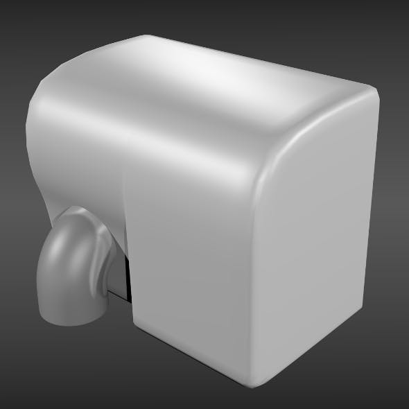 Hand dryer - 3DOcean Item for Sale