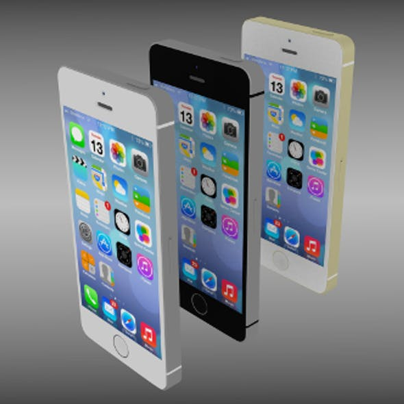 Iphone 5S silver/gray/gold