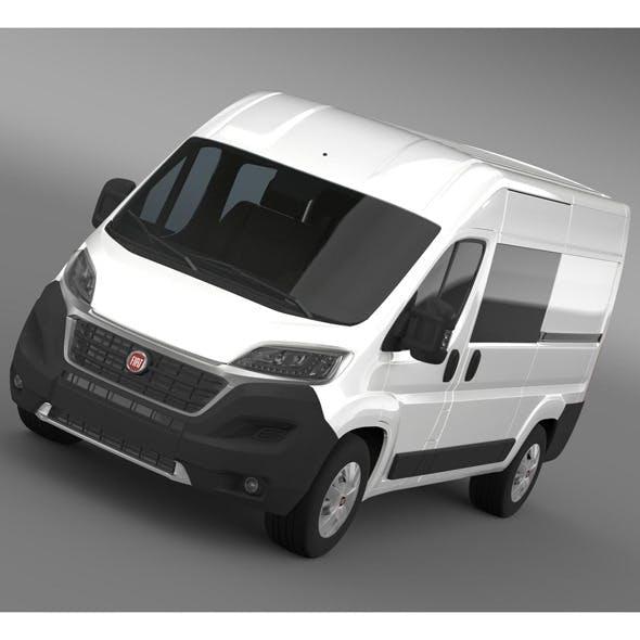 Fiat Ducato Combi Van 2015 - 3DOcean Item for Sale