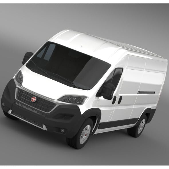 Fiat Ducato Maxi Van L3H2 2015 - 3DOcean Item for Sale