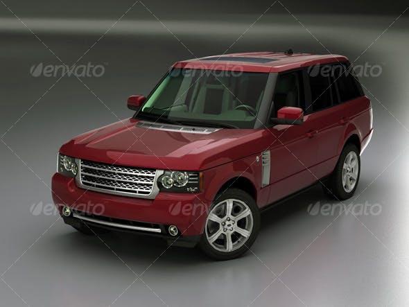 Range Rover 2010 - 3DOcean Item for Sale