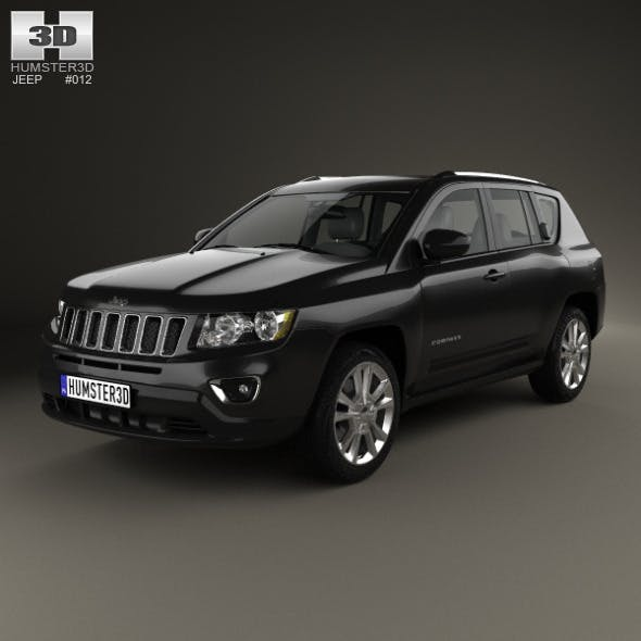 Jeep Compass 2013 - 3DOcean Item for Sale