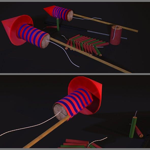 Firework Pack - 3DOcean Item for Sale