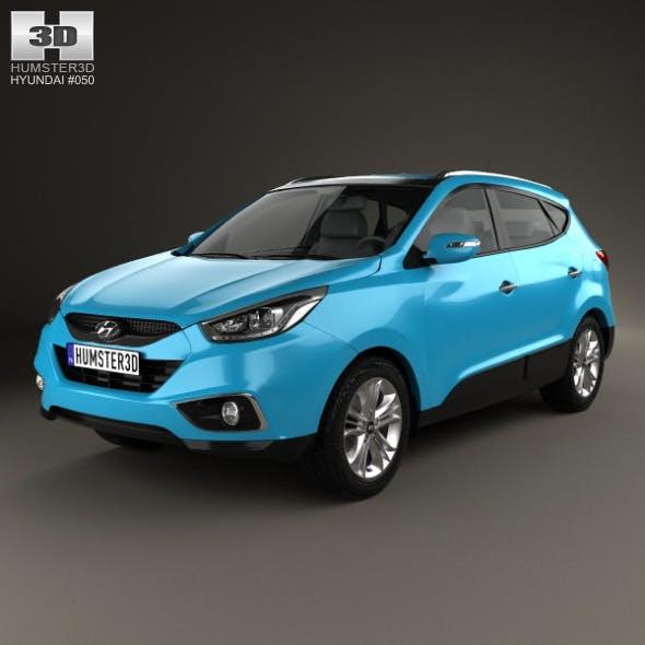 Hyundai Tucson (ix35) 2013 - 3DOcean Item for Sale