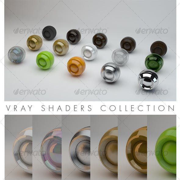 Vray Shaders Collection