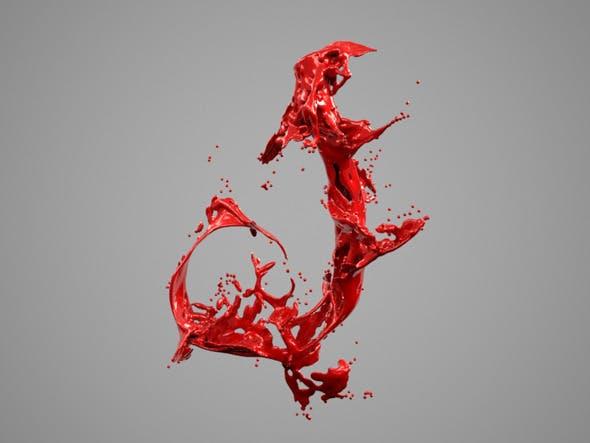 Alphabet Liquid: J - 3DOcean Item for Sale