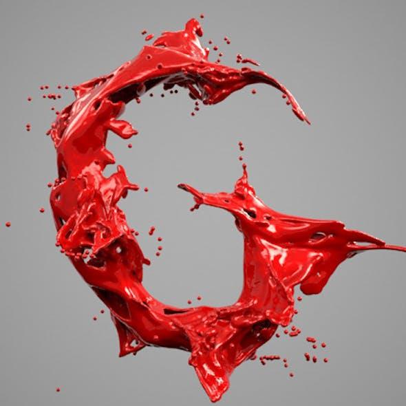 Alphabet Liquid: G