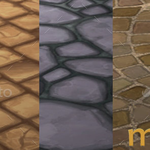 Handpainted Floor Textures Pack 01