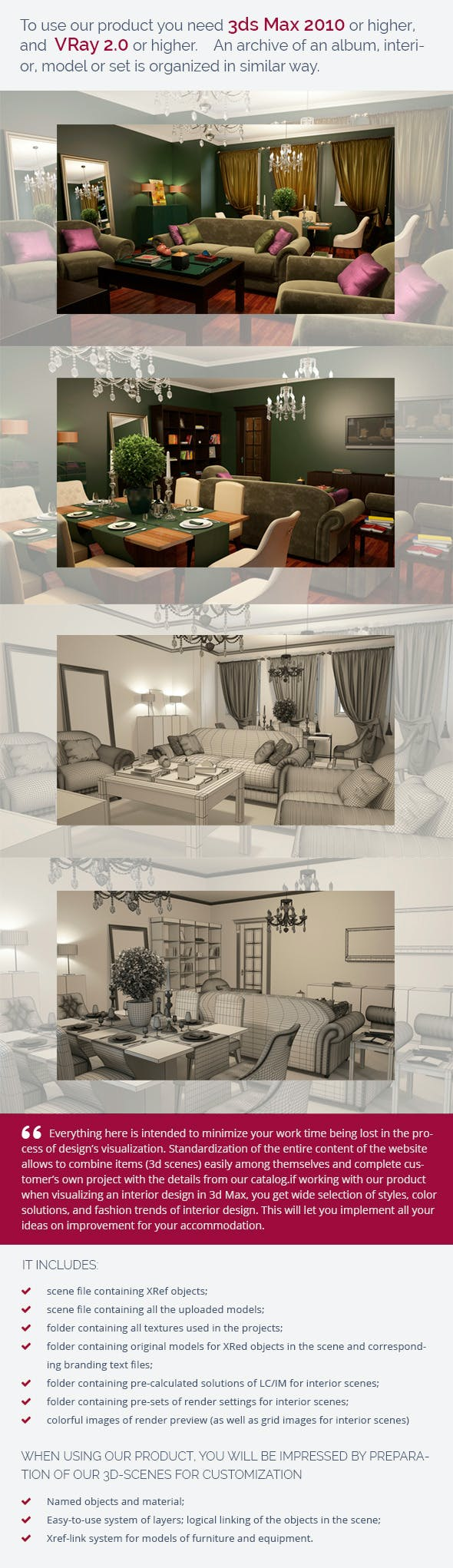 Living Room 0262 - 3DOcean Item for Sale