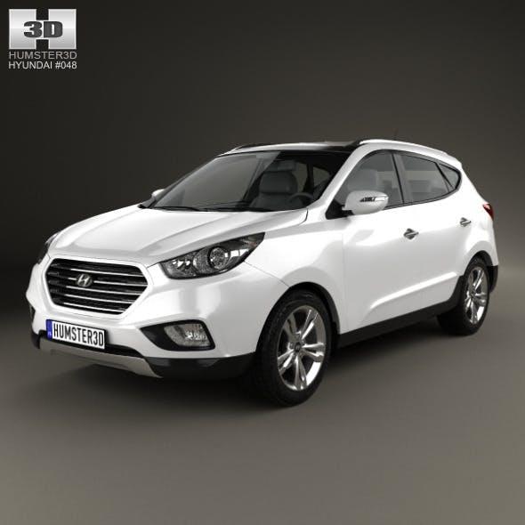 Hyundai Tucson (ix35) Fuel Cell 2012