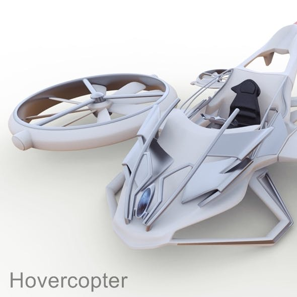 Hovercopter (concept) - 3DOcean Item for Sale