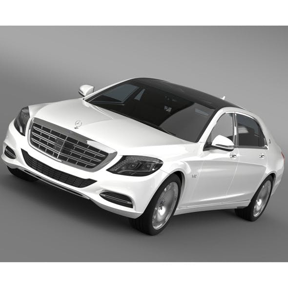 Mercedes Maybach S600 X222 2015 - 3DOcean Item for Sale