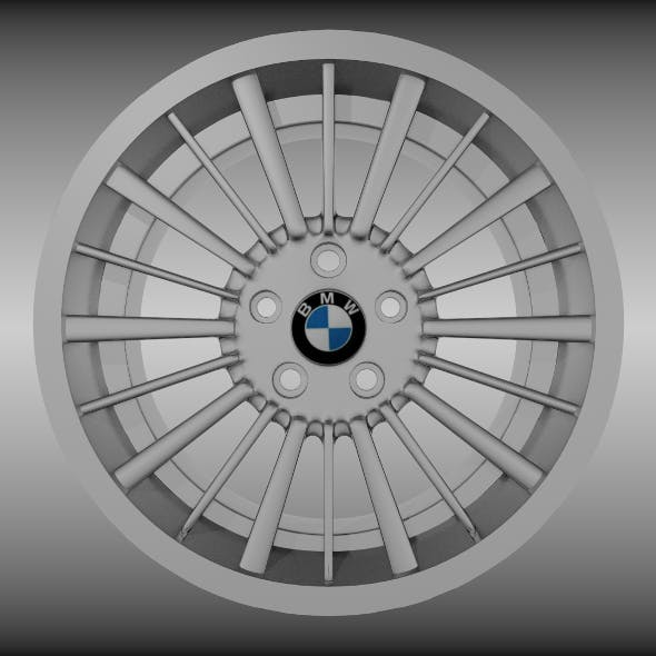 BMW rim 2 - 3DOcean Item for Sale